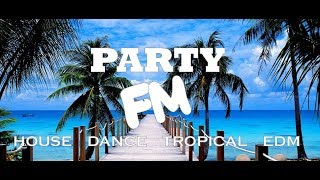 Party FM 24/7 Online Radio playing House, Dance Tropical and EDM