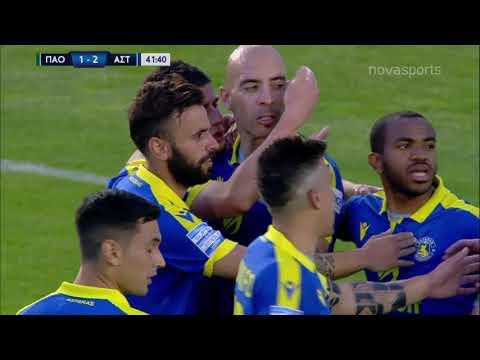 Panathinaikos Asteras Tripolis Goals And Highlights