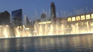 Fuentes del Burja Kalifa Dubai