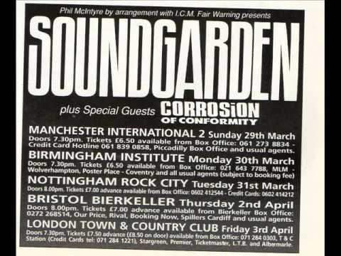 13 - Soundgarden UK 92. Mind Riot