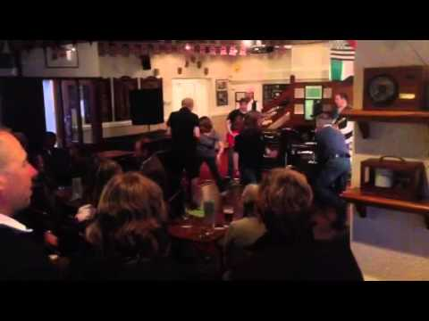Dancing in Holyhead