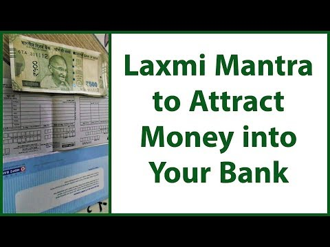 Lakshmi Mantra to Instantly Attract Money into Your Bank - YouTube