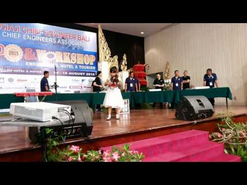 Let it go (Violin perfomance at sanur paradise - HCE Bali Expo)