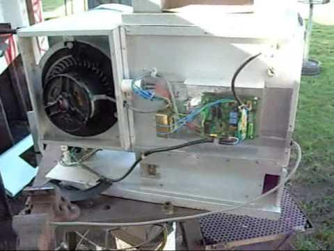 Hvac Scrap Day Daikin Inverter And Gas Heater Youtube
