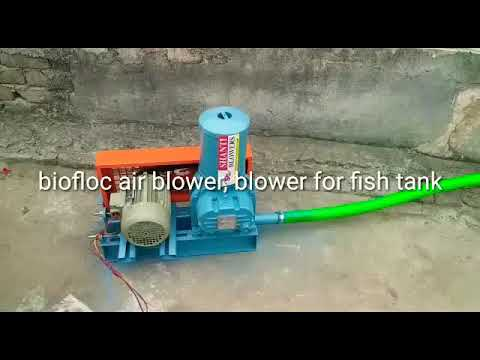 Bioflock Air Pump, Roots Blower 1 Hp , Biofloc Blower, Blower For Fish Farming,aquaculture Blower,