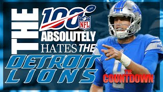 The NFL Absolutely Hates the Detroit Lions | The Countdown