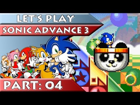 Let's Play Sonic Advance 3! (Part 3) from YouTube · Duration:  15 minutes 28 seconds  · 103,000+ views · uploaded on 3/1/2012 · uploaded by ClementJ64