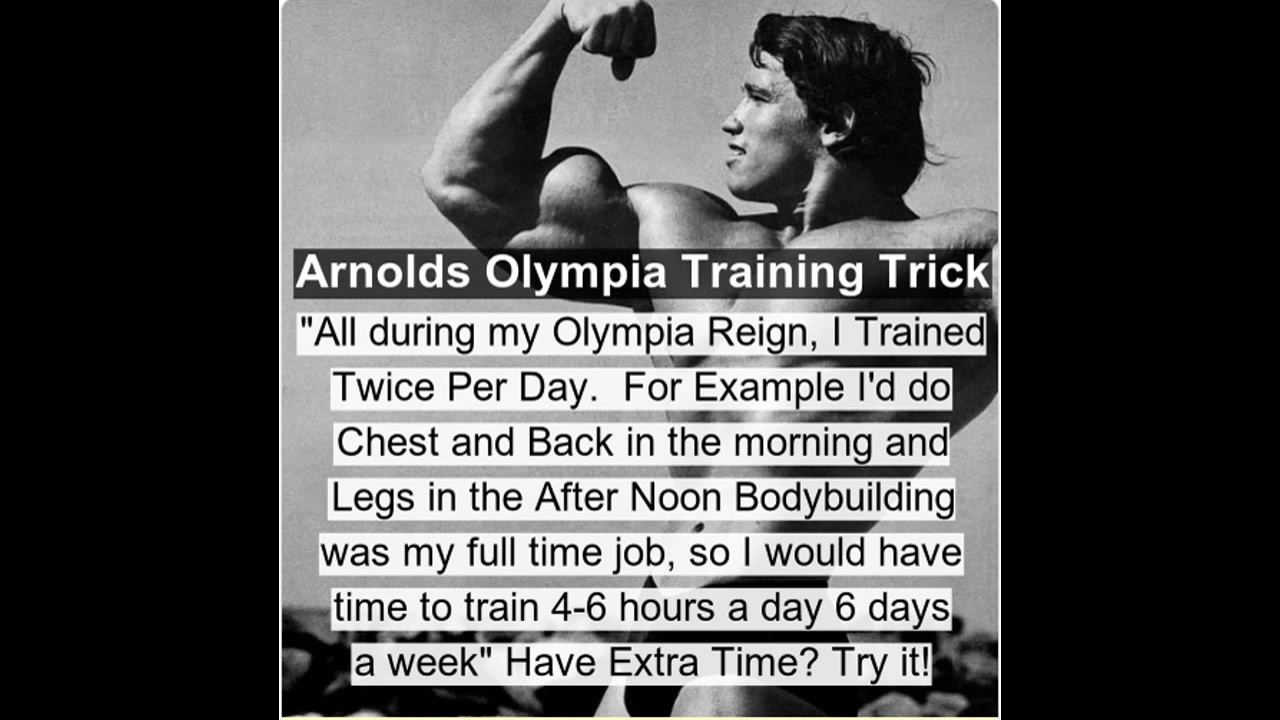 Highly effective fitness tips from arnold schwarzenegger highly effective fitness tips from arnold schwarzenegger malvernweather Gallery