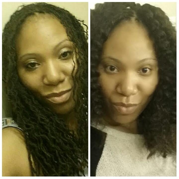 Sneak Peak Crochet Braids Over My Sisterlocks Youtube