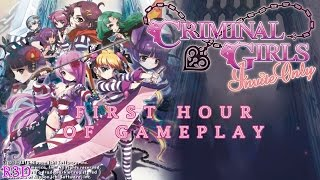 Criminal Girls: Invite Only - First Hour of PC Gameplay | Walkthrough Part 1 [English, Full 1080p]