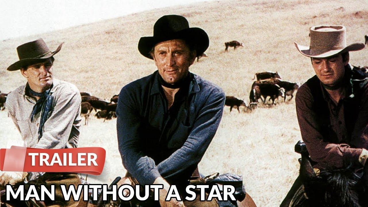 Man Without a Star 1955 Trailer   Kirk Douglas