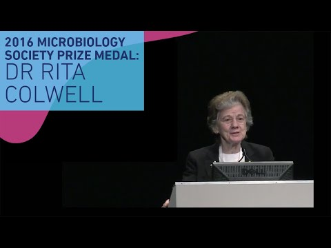 Dr Rita Colwell: 'Climate change, oceans and infectious disease: Cholera pandemics as a model'