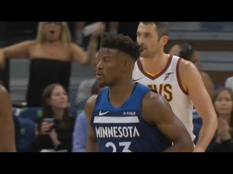 Jimmy Butler Gets Booed By Timberwolves Crowd! Cavaliers vs Timberwolves