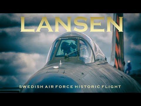 SAAB J 32 Lansen Örebro Airshow Sweden 2017