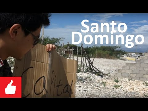 Hitchhike to Santo Domingo (#14 Dominican Republic) Chinese Vlogger