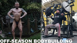 OFF-SEASON CHEST/ARMS WORKOUT | MY NEW PURCHASE...