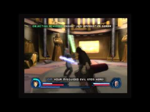 Star Wars: Revenge of the Sith PS2 Walkthrough, The Final Lesson - Serra Keto & Cin Drallig |