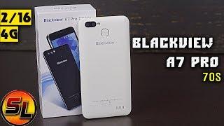 blackview A7 Pro полный обзор бюджетника на 2/16 Гб с поддержкой 4G.  review