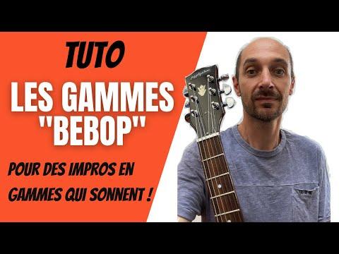 """Download TUTO : Les GAMMES """"BEBOP"""" pour des impros en gammes qui sonnent !"""