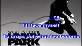 Linkin Park - What i've done - karaoke