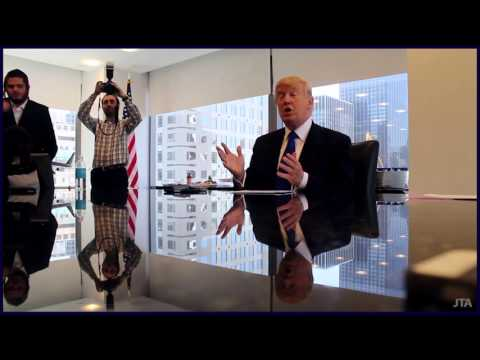 Donald Trump Sits Down with Jewish Reporters: April 2016