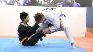Tales From Deep Half: Berimbolo variation from 14 year old phenom