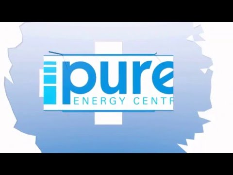 Pure Energy Centre Logo Animation