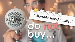 DO NOT BUY the Blue Snowball iCE Without Watching This Video
