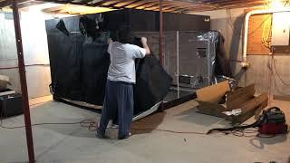 Gorilla Grow Tent 10x10 Set Up Video 3