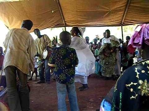bamako, mali: wedding celebration (jan. 2010).avi