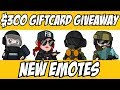 Rainbow Six Siege New Emotes & $300 Giveaway