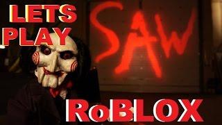 Vamos jogar RoBlox: SAW (tente não rir)