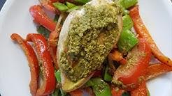 Pesto-Hähnchen Gemüsepfanne | Mori kocht
