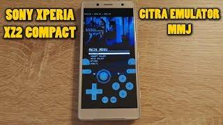 Sony Xperia XZ2 Compact - Batman: Arkham Origins Blackgate - Citra Emulator MMJ - Test (CPU JIT)