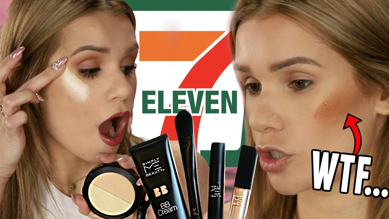 Full Face TESTING 7 ELEVEN Makeup Is It ANY Good
