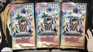 Opening My Rondeau of Chaos and Salvation Cardfight Vanguard Prerelease Packs