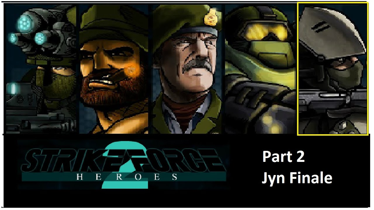 Strike force heroes 2 jyn the sniper finale part 2 youtube
