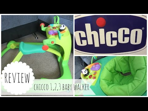 CHICCO 1, 2, 3 BABY ACTIVITY WALKER REVIEW*   THE KNOTT BUMP & US