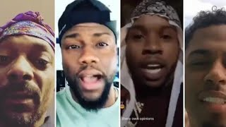 Gambar cover Celebrities react to Jacquees says he's the king of R&B