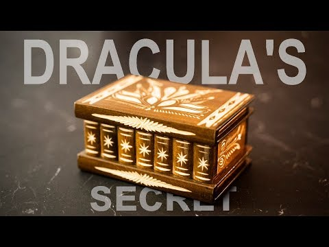 DRACULAS Secret Box - Straight from TRANSYLVANIA!!