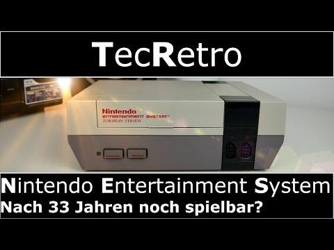 Nintendo Entertainment System - NES - Nach 33 Jahren noch spielbar? | TecRetro | 4K