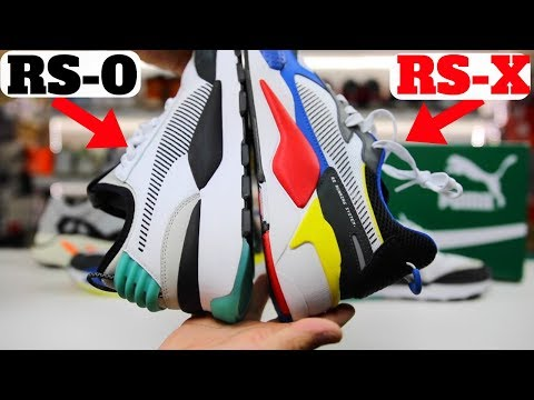 PUMA RS-X vs RS-0 Comparison Review! RS-X Best Budget DAD Shoe?