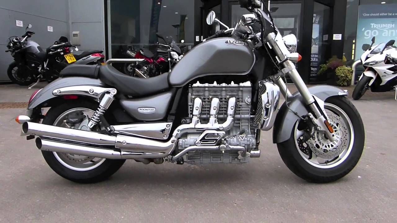 triumph rocket 3 (iii) 2300cc motorcycle for sale 2007 - youtube