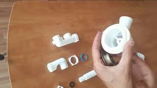 Как установить слив-перелив для ванны (Обзор и комплектация)