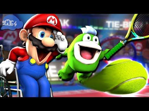 SMG4: Stupid Mario Tennis Aces
