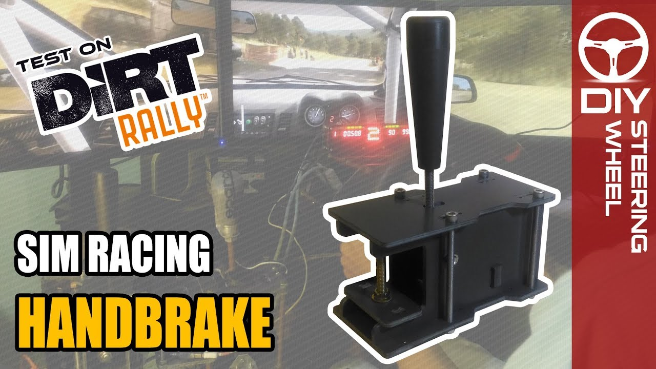 Handbrake - AYS tech | DIY Steering Wheel - Sim Racing