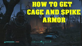 Fallout 4 - How To Get Cage & Spike Armor