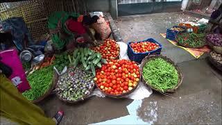 110. Субботний овощной рынок в Путтапарти. 9 октября 2021 г.