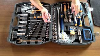 Набір інструментів Kraft KT 700679 - 120 предметів у валізі - все для ремонту автомобіля