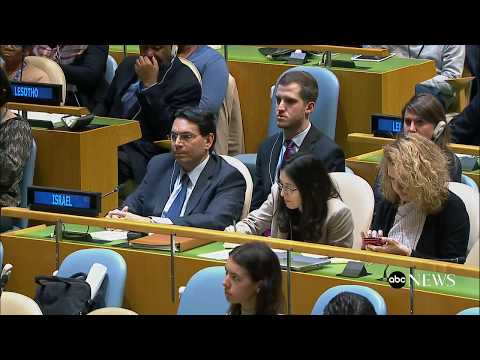 UN General Assembly meeting on US embassy move in Israel | ABC News